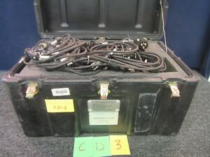 Christie Casp 2000 Battery Analyzer charger Pp 8333 u 6 Channel Military Used
