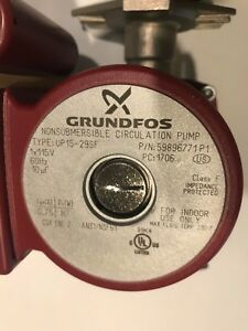 Grundfos Circulator Pump Ups15 29sf