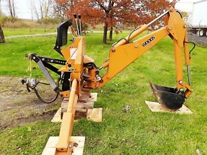 Backhoe Attachment 4 Tractor 3 Point