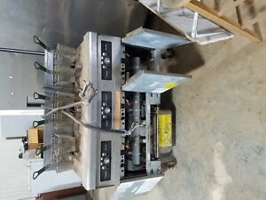 Frymaster 3 Well Electric 3 Phase Commercial Deep Fryer