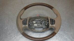 Ford Excursion F250 F350 Superduty Tan Leather Wood Steering Wheel F 250