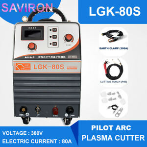 Industrial Grade Pilot Arc Cutting Machine 80amp Cnc Plasma Cutter Inverter 380v