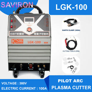 Industrial Grade Pilot Arc Cutting Machine 100a Cnc Plasma Cutter Inverter 380v