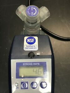 Walchem Iwaki Metering Pump Ezb10d1 vc With Ez Controller Working