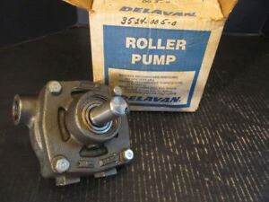 Delavan 7 roller Pump Side Port 3 4 540 750 Rpm 77 4110