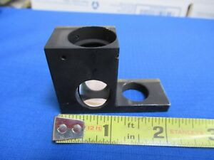 Unitron Japan Lens Mirror Assembly Optics Microscope Part As Pictured