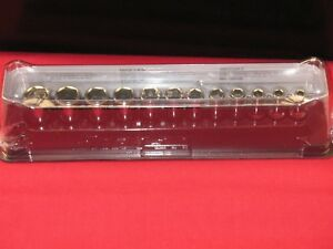 Snap on 1 4 Drive Semi Deep Metric Sockets With Magnetic Storage Tray