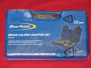 As Sold By Snap On Tools Blue Point Brake Caliper Adaptor Set In Storage Box