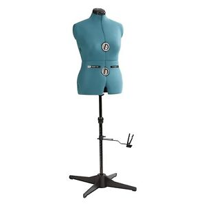 Seamstress Mannequin Torso Adjustable Tailors Dressmaking Dress Form Sewing M