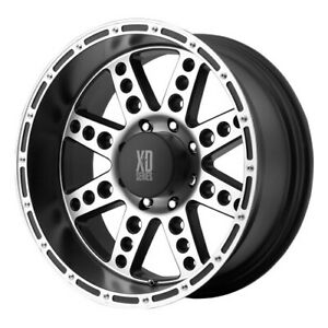 4 New 20x10 Kmc Xd Diesel Black Wheel rim 5x135 5 135 20 10 Et 24