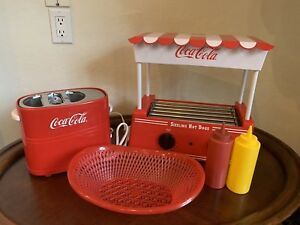 Hot Dog Roller Grill Bun Toaster Nostalgia Food Cooker Machine Retro More