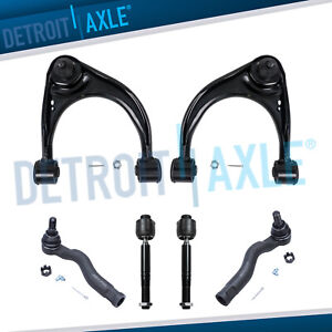Fit 2007 2008 2016 Toyota Tundra 2 Front Control Arms Ball Joint Tie Rods