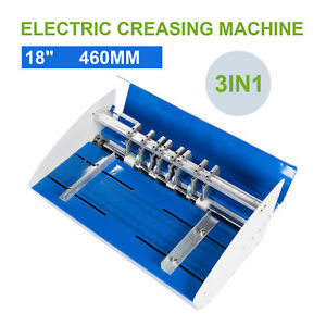 460mm Electrical Creasing Machine Electric Paper Creaser