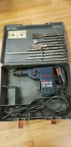 Bosch Hammer Drill Sds plus 11236vs With Case And Sds plus Bits