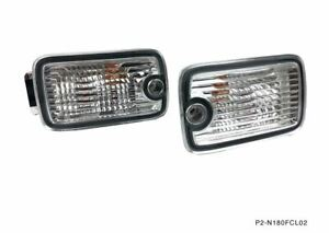 P2m Front Position Marker Lights Set Single Post Silvia 180sx 240sx S13 Type X