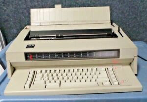 Vintage Ibm Wheelwriter 3 Electric Office Typewriter Working