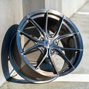 18 Rsr R903 Forged 18x9 5 Titanium Wheels 17 2018 Honda Civic Type R Monoblock