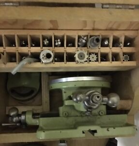 South Bend 9 10k Lathe Milling Attachment With Xy Table