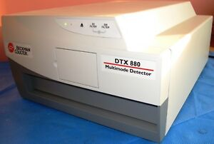 Beckman Coulter Dtx 880 Multimode Detector Microplate Reader With Emp Exp Optics