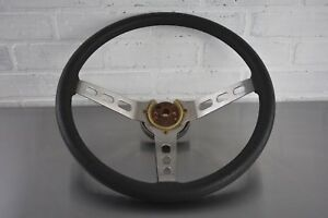 Jeep Cj 1976 86 Original 3 spoke Steering Wheel Cj5 Cj7 Cj8