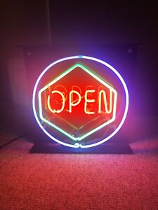 Animated Led Neon Light Open Sign
