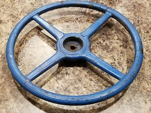 Model A Ford Keyed Steering Wheel Blue 1928 1931 Rat Rod Trog