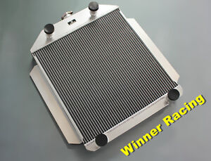 Aluminum Radiator For Ford Car Flathead V8 Engine M T 1949 1952 56mm Core