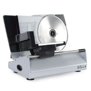 Ham Slicing Machine Deli Slicer Electric Meat Food Bread Large Chees Commercial