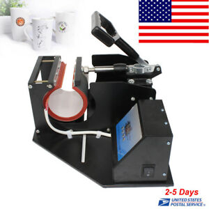 New Dual Digital Display Heat Press Transfer Sublimation Machine Cup Coffee Mug
