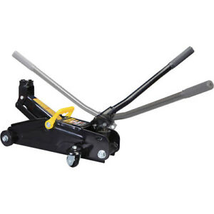 Hydraulic Trolley Floor Jack Torin 2 ton With 360 degree Rotation Handle In Case