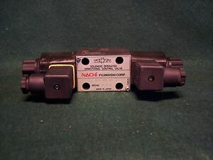 Nachi Hydraulic Solenoid Operated Directional Control Valve Sa g01 c5 c1 30 New