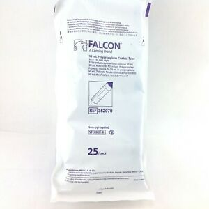 Bd Falcon 352070 50 Ml Polypropylene Conical Tube 25 pack