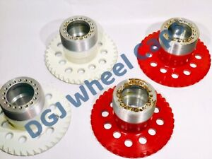 4 Lug Lowrider Wire Wheel Adapters For Locking Knock Offs Spinners4x100 4 25 4 5