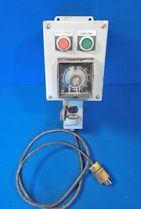 Eagle Signal Cycl flex Industrial Timer Unit 60 Minutes Hp5 Parts Polisher Etc