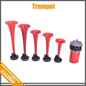 5pcs Trumpets Musical Dukes Of Hazzard Dixie Horn Horn Kit 125db Compressor Car