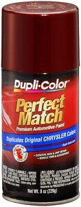 Duplicolor Ebcc04137 Dark Garnet Red Pearl Chrysler Perfect Match Auto Paint 8oz