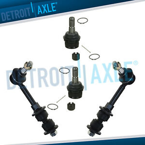 2000 2001 Dodge Ram 1500 4wd Front Sway Bars Lower Ball Joints Suspension Kit