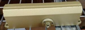 Norton Door Closer Body Only Mint 1601 Bc Bf Gb Full Warranty Adj Size 1 4