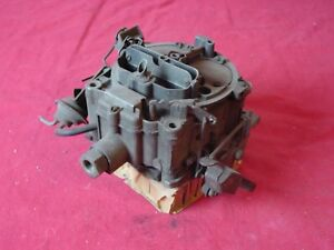 1970 Pontiac 7040263 Quadrajet Carburetor Firebird Gto 4 Spd Nice Used Core
