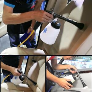 New Tornado Car Cleaning Gun Surface Interior Exterior Air Washing Tool Black