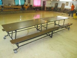 Closeout Cafeteria Lunchroom Tables 17 Units Only 4000 obo Can Ship Bulk