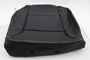 New Oem Gm Driver Seat Back Cover Black Leather 84017612 Silverado Sierra 16 18