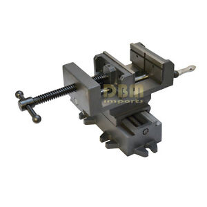 3 X y Compound Cross Over Slide Sliding Drill Press Vise Milling Drilling 2 Way