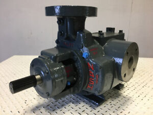 Nash Sc2 2 Vacuum Pump 316ss With Mechanical Seals 160 Cfm 27 Hg 85874