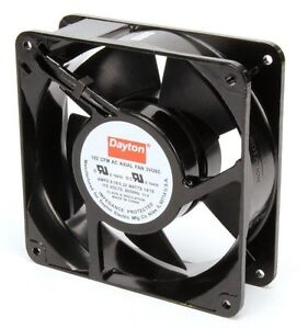 Dayton Axial Fan 115 Volts Ac 14 Watts 105 Cfm Model 3vu65