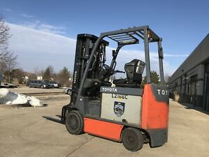 2013 Toyota Forklift 6000 Pound Budget lifts Over 21 Feet l k we Will Ship