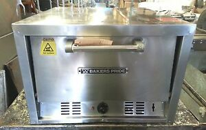 20 Bakers Pride P22s Double Deck Counter Top Electric Pizza Oven Commercial