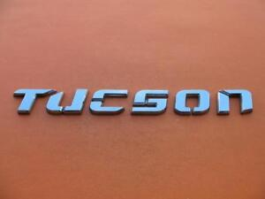 05 06 07 08 09 Hyundai Tucson Rear Lid Gate Chrome Emblem Logo Badge Oem 5