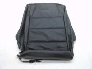 Nos Vw Jetta Sdn Left Or Right Lower Front Seat Black Leather Cover W Heat