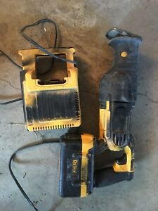 Dewalt Dc305 36 Volt Cordless Sawzall Reciprocating Saw With Battery